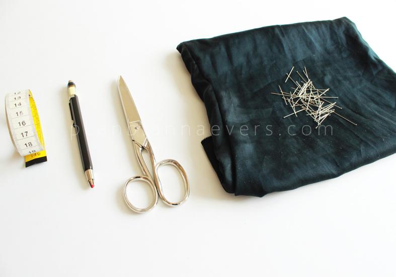 Plan B anna evers DIY Lace short materials