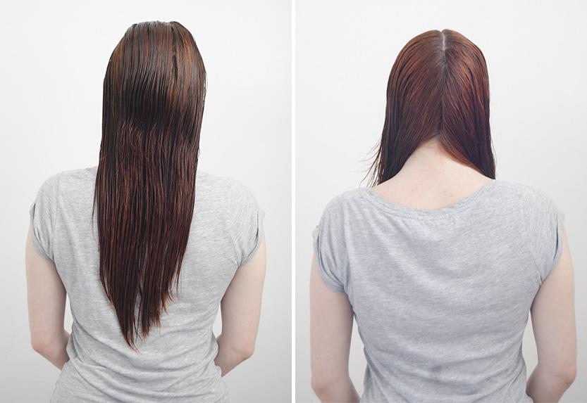 Corte cabello capas cortas uno mismo