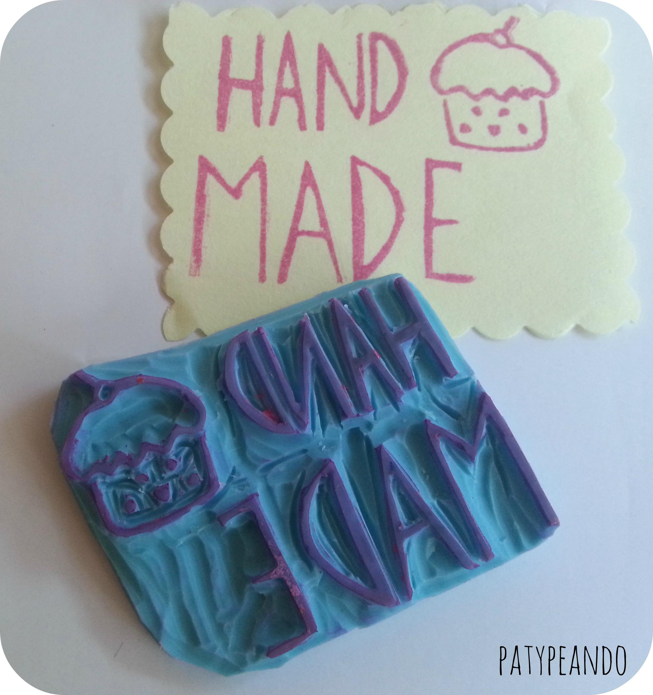sello hand made 2