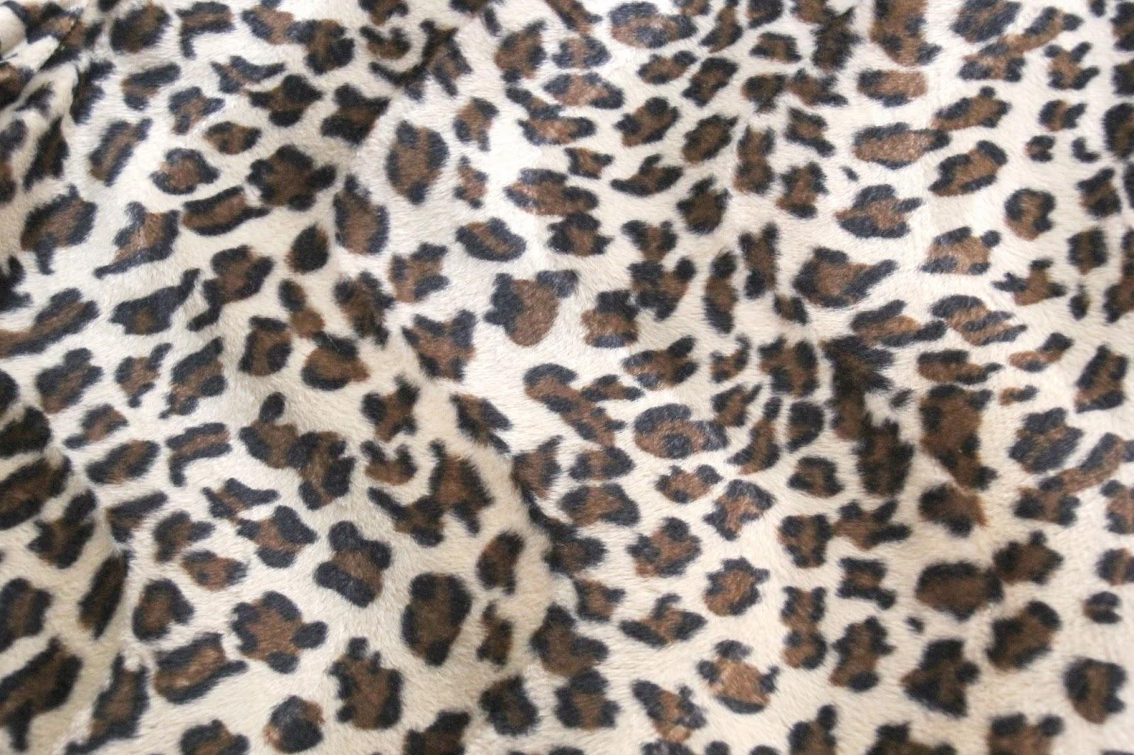 diy abrigo de pelos animal print (patrones gratis) - Handbox Craft ...