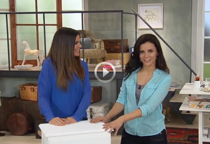 Rocío Jiménez y Vielka Valenzuela en Deco Hogar de Casa Club TV // Casa Haus