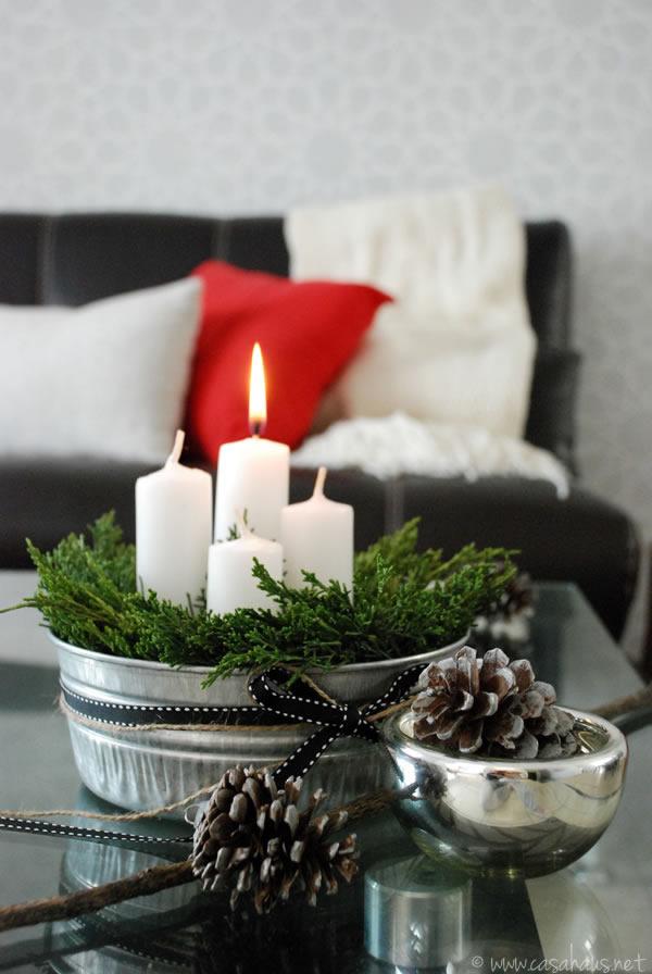 Advent candles // Velas de adviento // Casa Haus