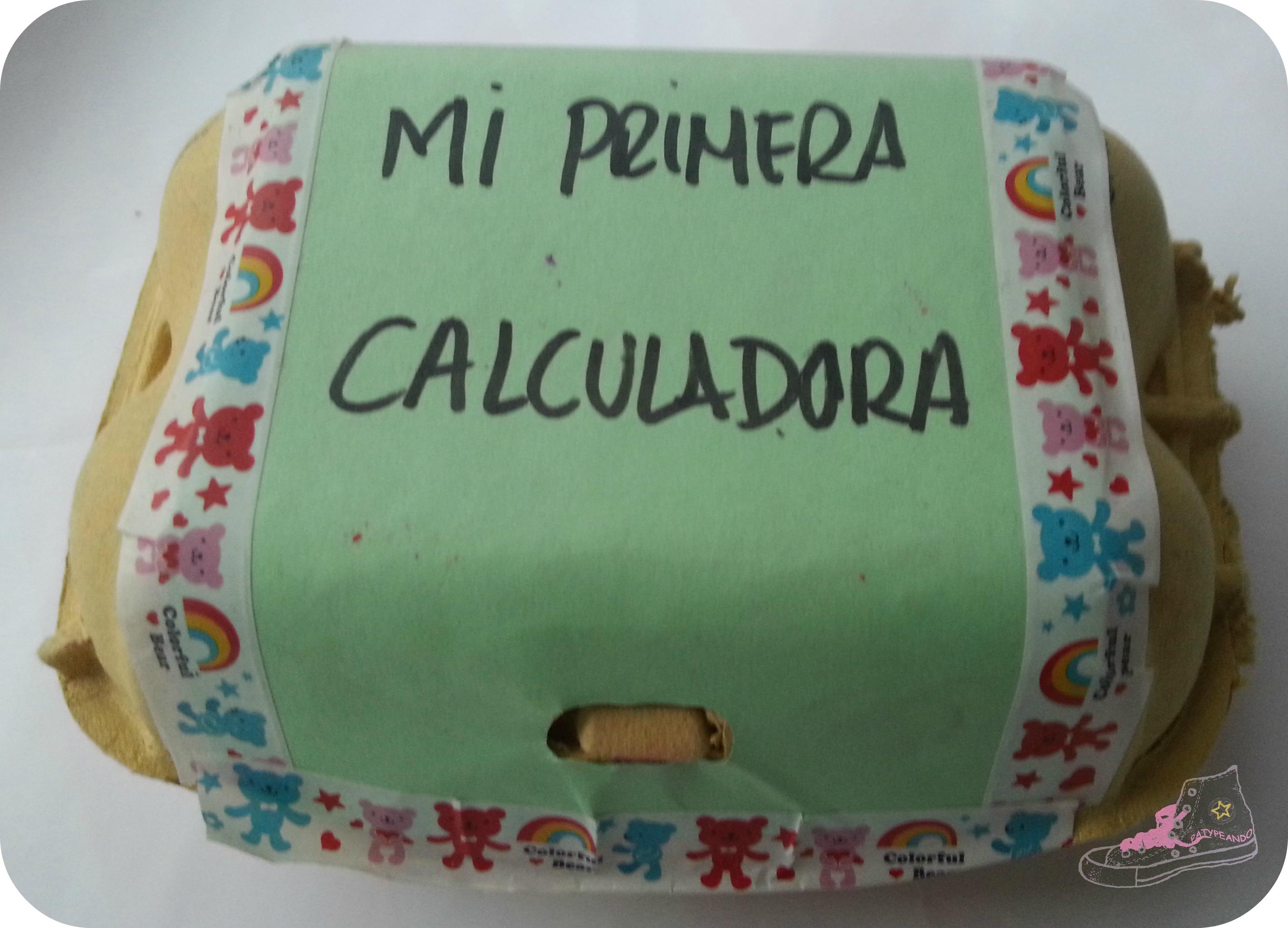 de huevera a calculadora