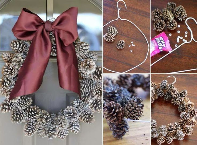 Decorar con piñas diy9