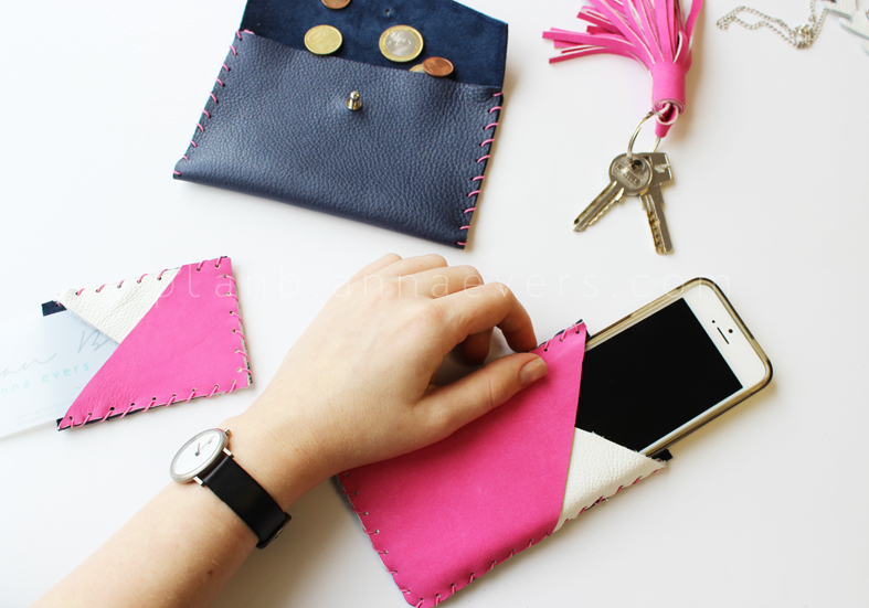 Plan B anna evers leather accessories workshop ,