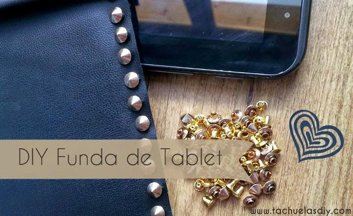 Video tutorial muy fácil para hacerte cualquier funda de tablet u otra cosa sin coser con aplicaciones de tachuelas en remache a presión,facil y muy llamativas.Con trozo de cuero y fieltro.