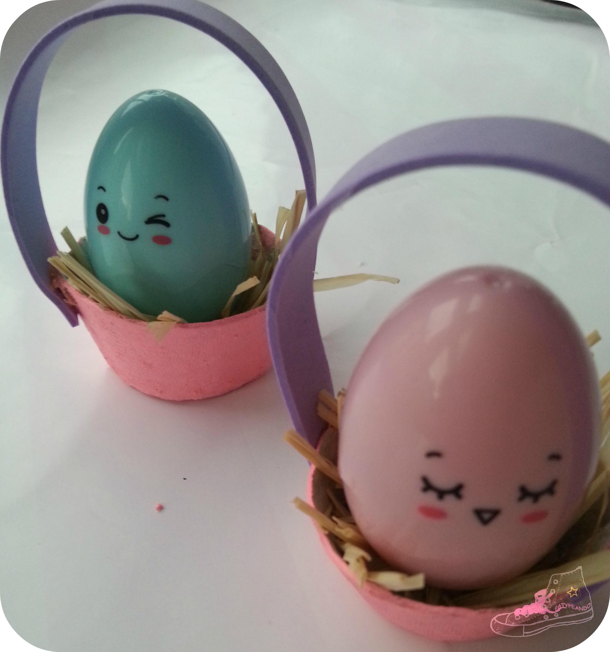 huevos en nidos