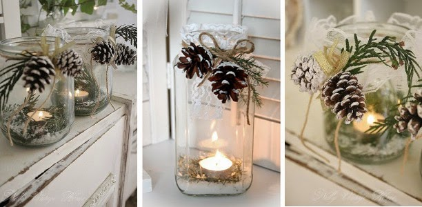 Decorar con piñas diy5