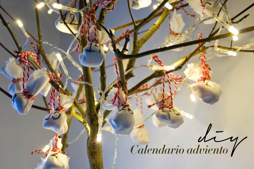 5408dc4c8 Diy calendario de adviento árbol - HANDBOX