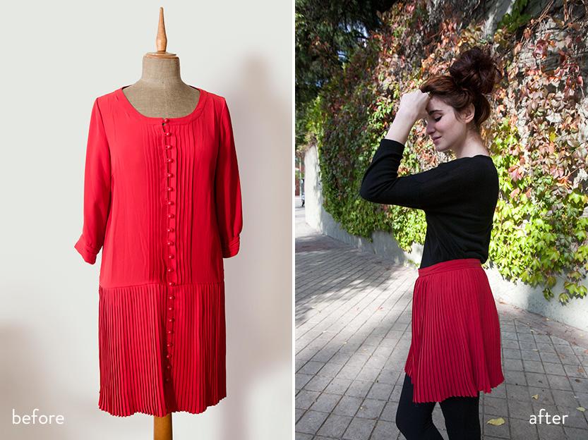 diy-falda-plisada-tutorial-fabricadeimaginacion-before-and-after