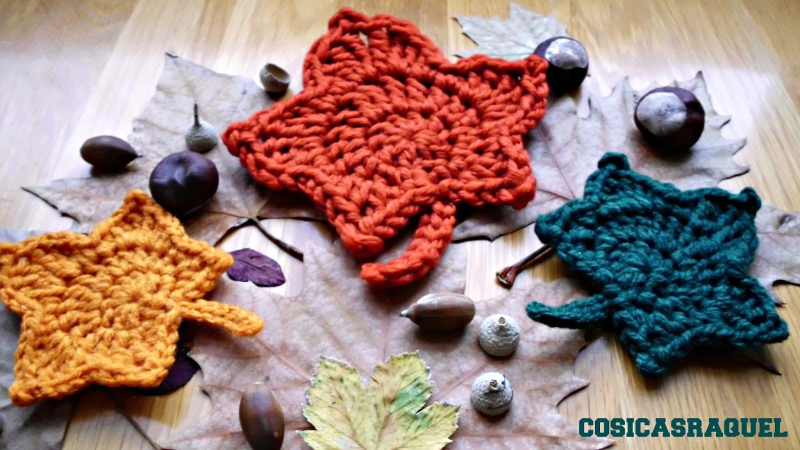 Hojas de Otoño a Crochet - Handbox Craft Lovers | Comunidad DIY ...
