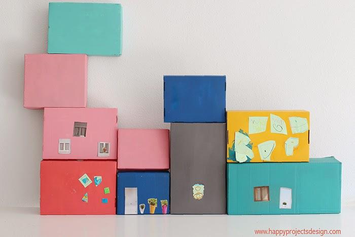 Casa de muñecas DIY: la construcción