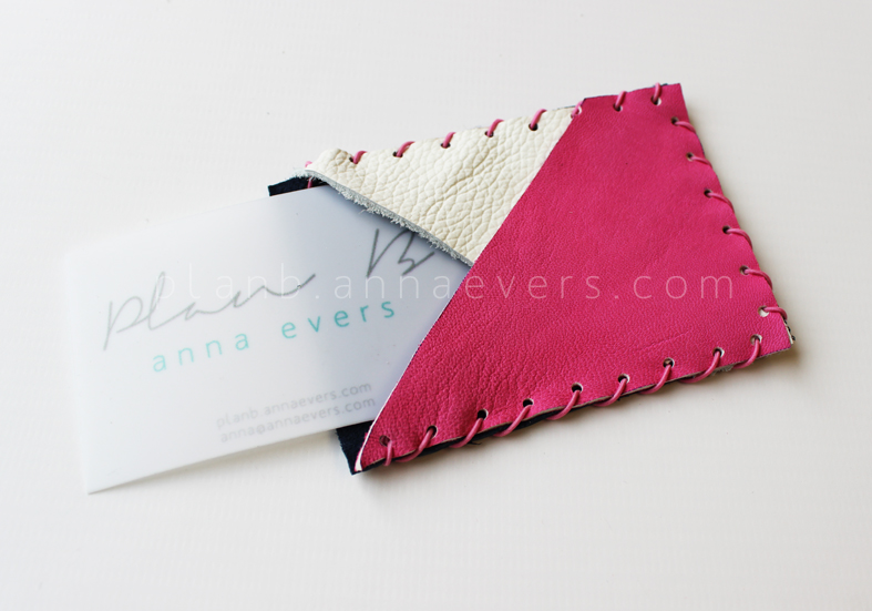 Plan B anna evers leather accessories workshop card holder