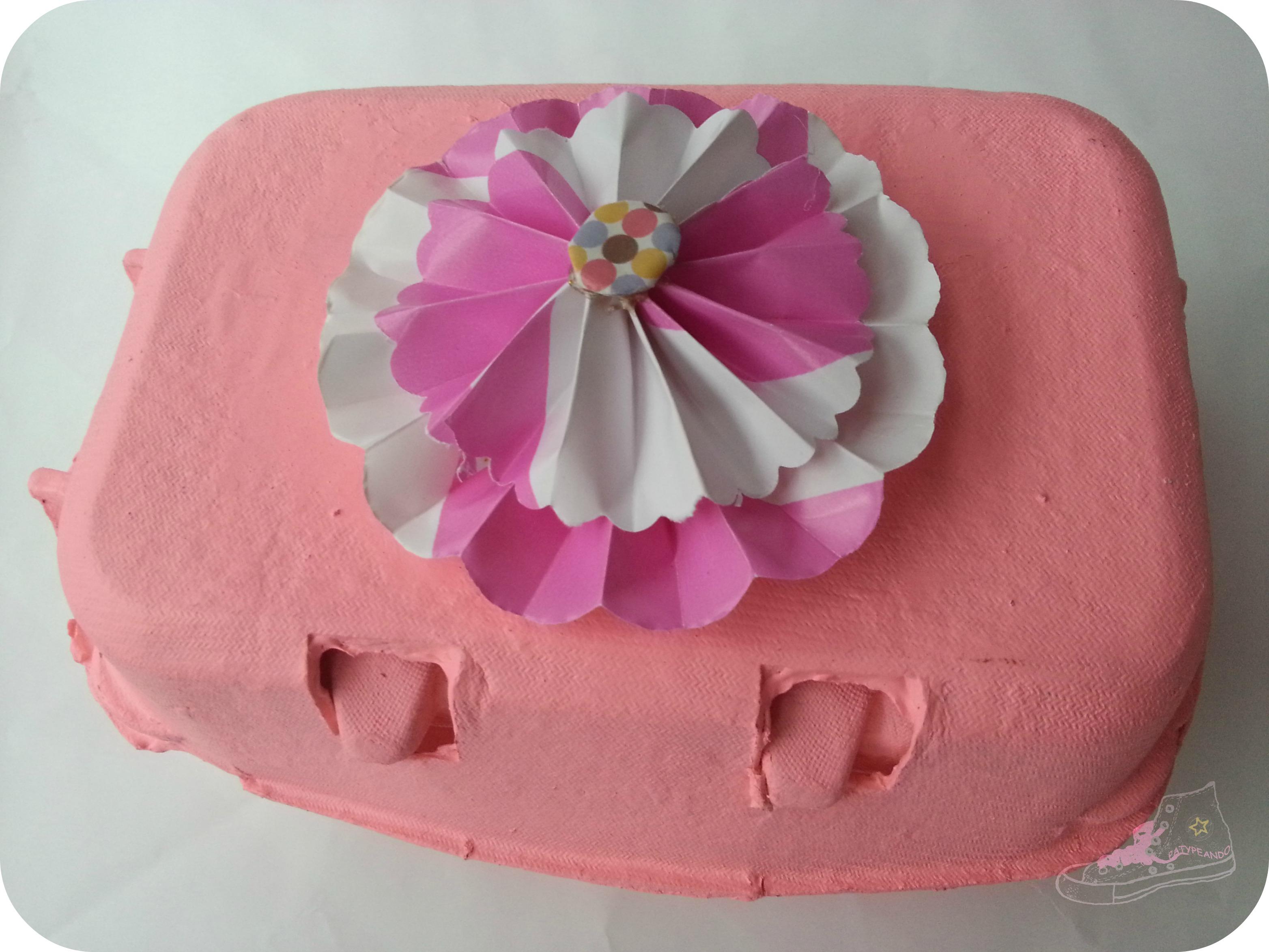 huevera rosa packaging