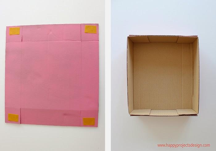 Casa de muñecas DIY: las cajas