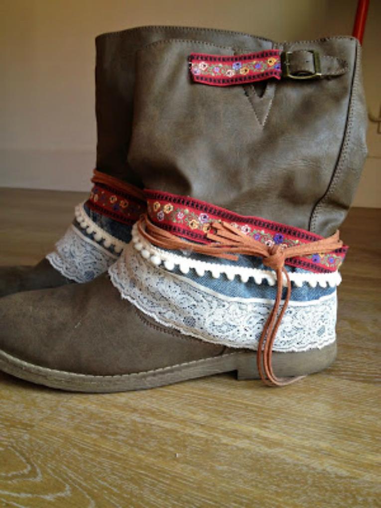 botas recicladas