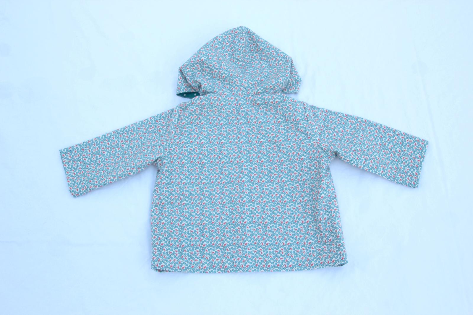 DIY Costura: Cómo hacer abrigo estampado para bebé (patrón gratis)