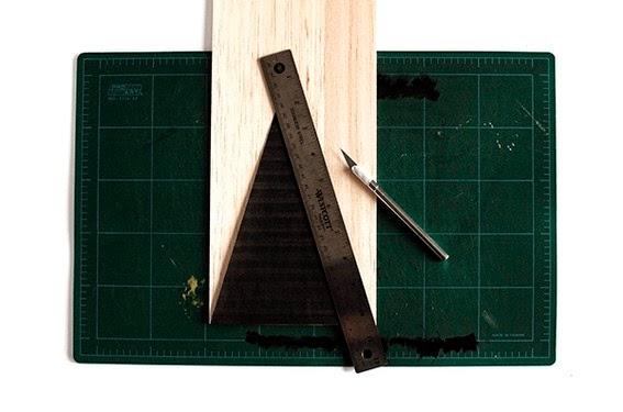 Diy pino de navidad de madera3
