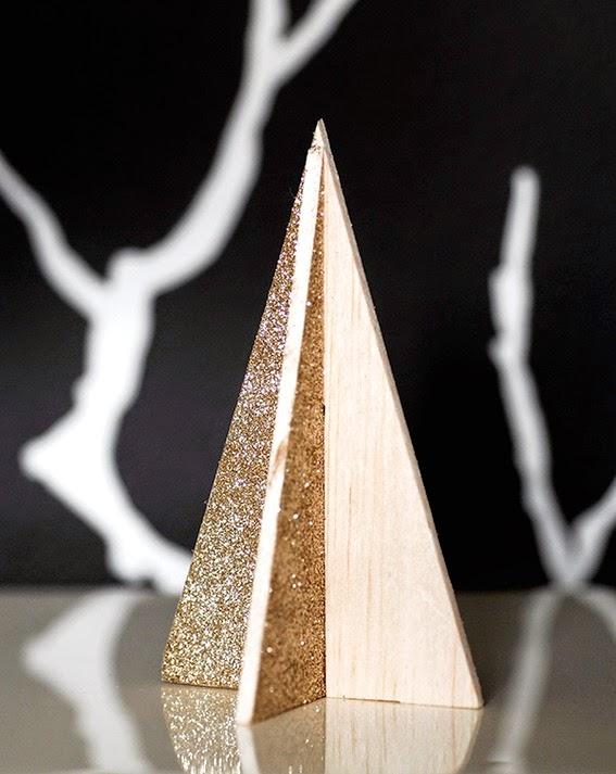 Diy pino de navidad de madera de okume o cartón11
