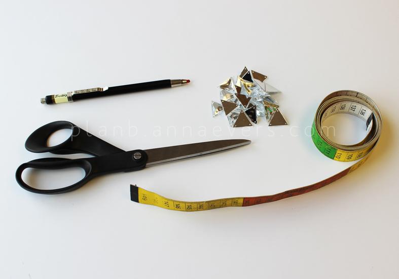 Plan B anna evers DIY Christmas trench materials