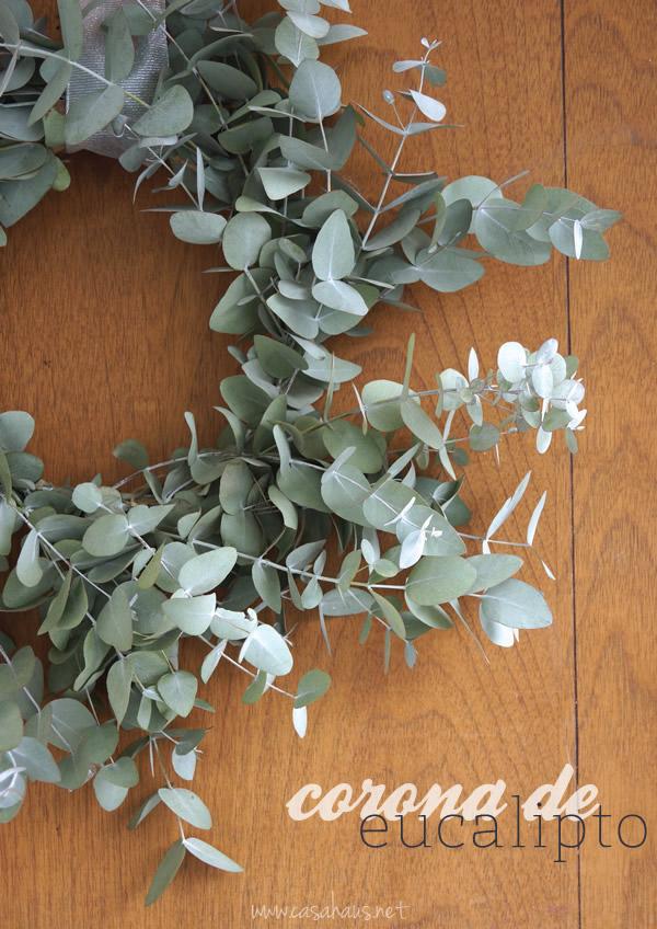 DIY eucalyptus wreath // Cómo hacer una corona de eucalipto // Casa Haus