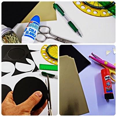 DIY-craft-tarjeta navideña-pop up-navidad-flores-Christmas-felicitación-1