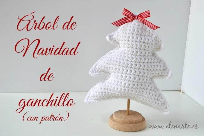 Árbol de Navidad de ganchillo (con patrón). - Handbox Craft Lovers ...