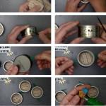 cómo hacer un blen colgante con unas latas de atún