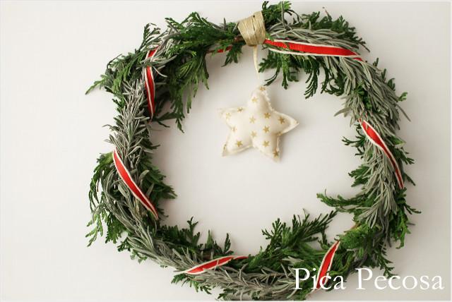 Cómo Hacer Una Corona De Navidad Handbox
