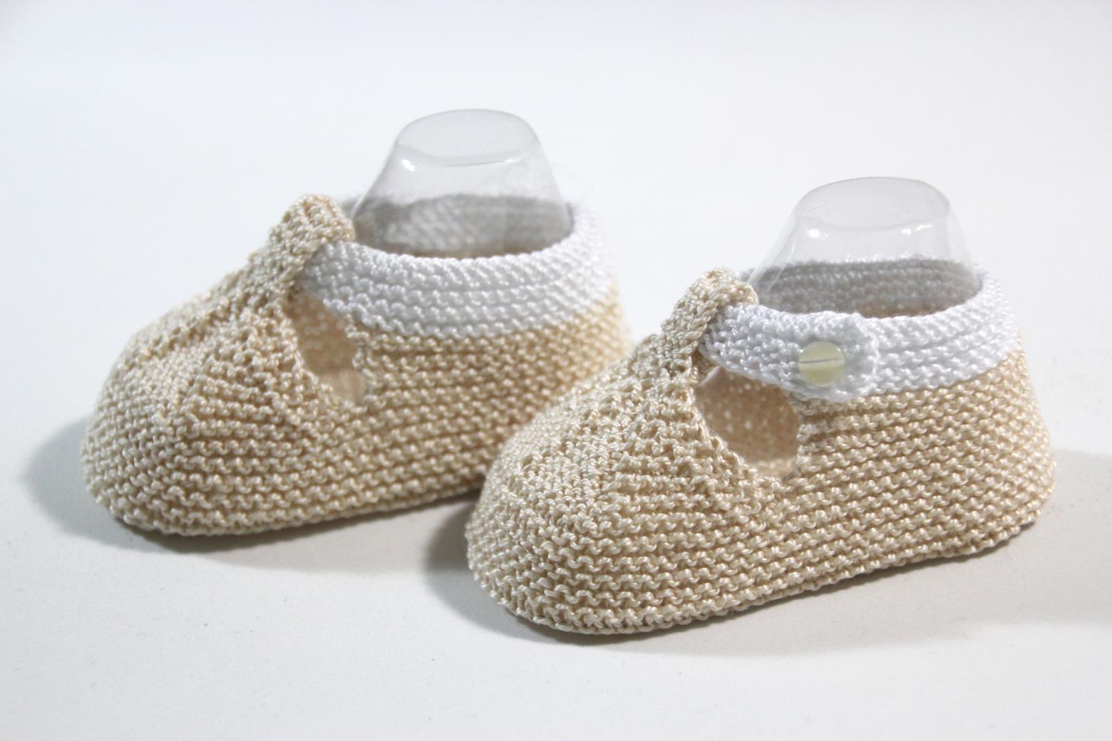 Regalo DIY para hacer en Navidad: Zapatos de punto para bebé ...