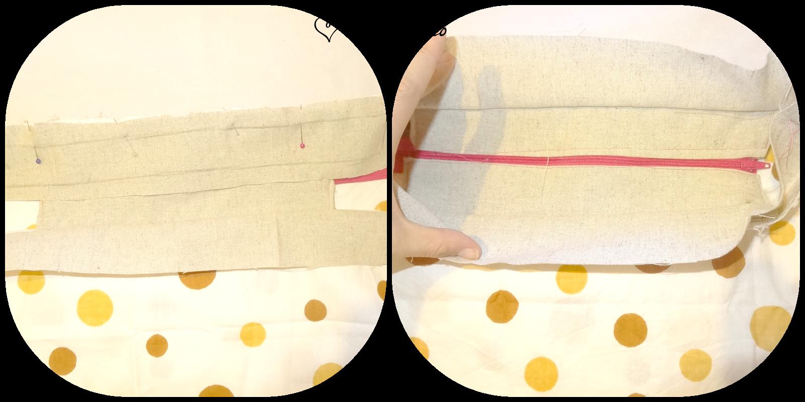 Cómo hacer un tote bag con cremallera