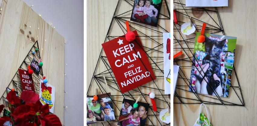 El árbol de navidad handmade de Decorar en familia - DIY7