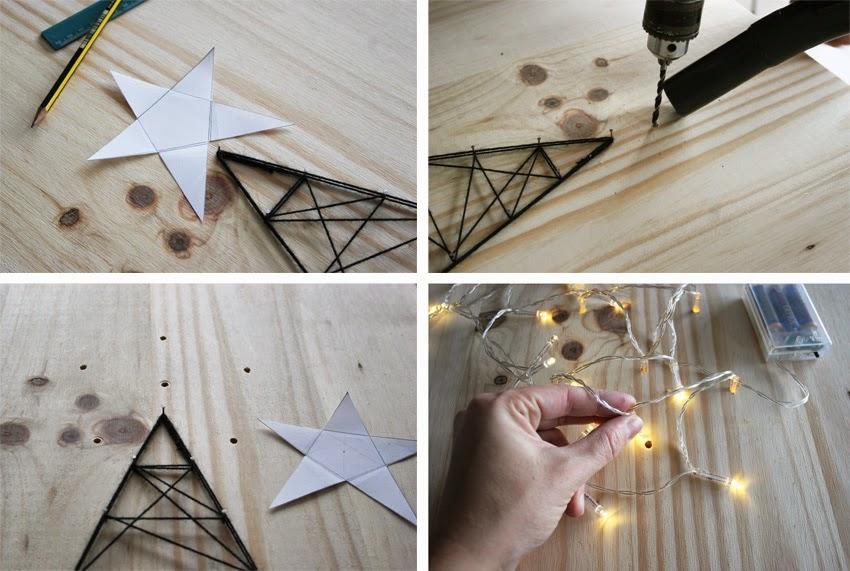 El árbol de navidad handmade de Decorar en familia - DIY4