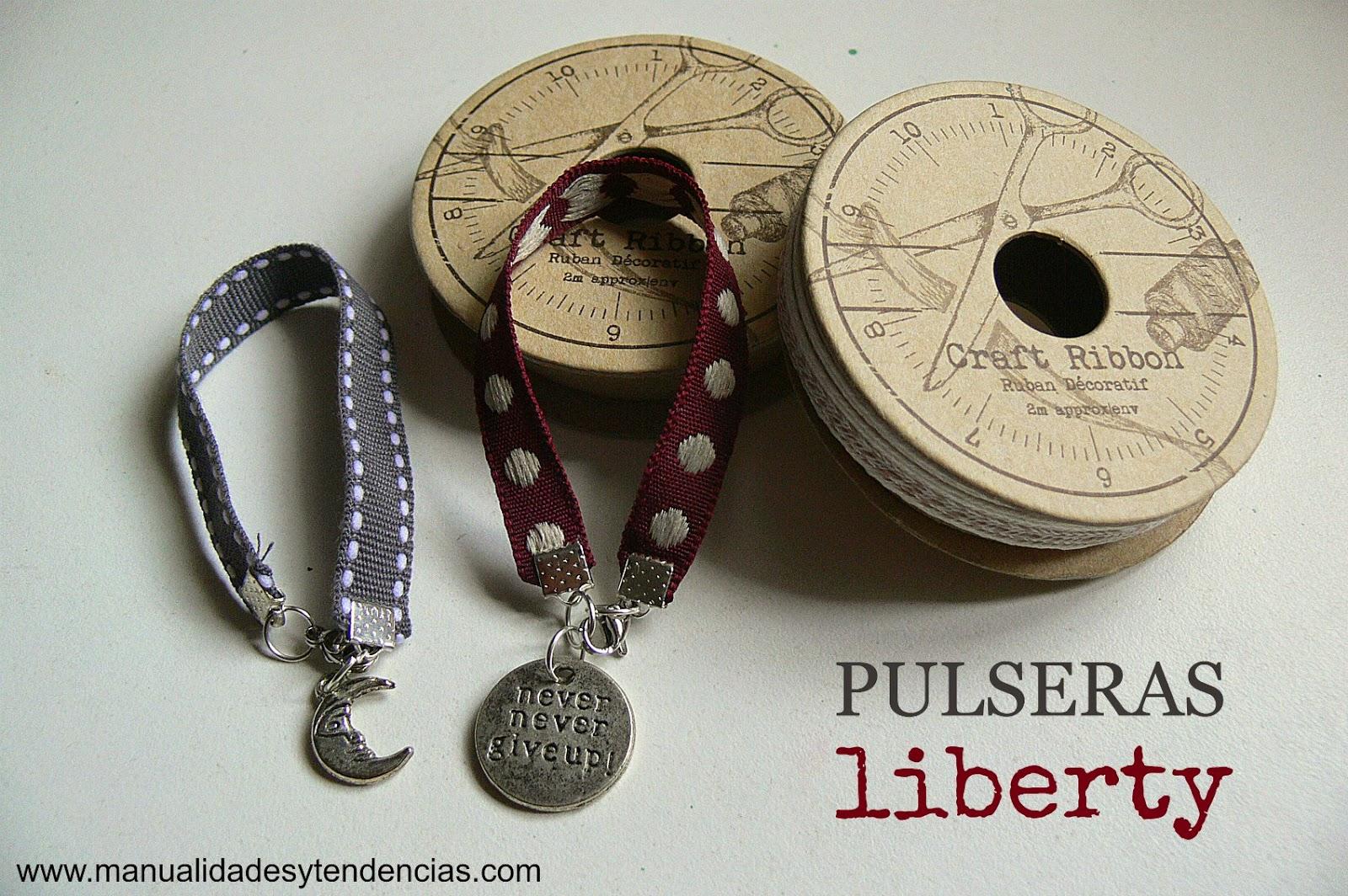 tutorial pulsera liberty