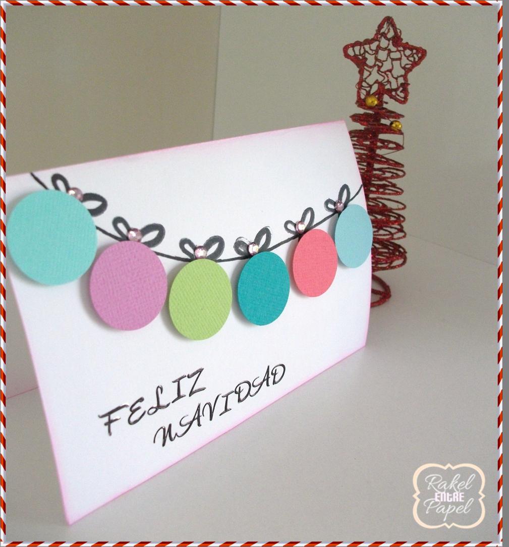 Tutorial Tarjeta De Navidad Facil Y Rapida Handbox