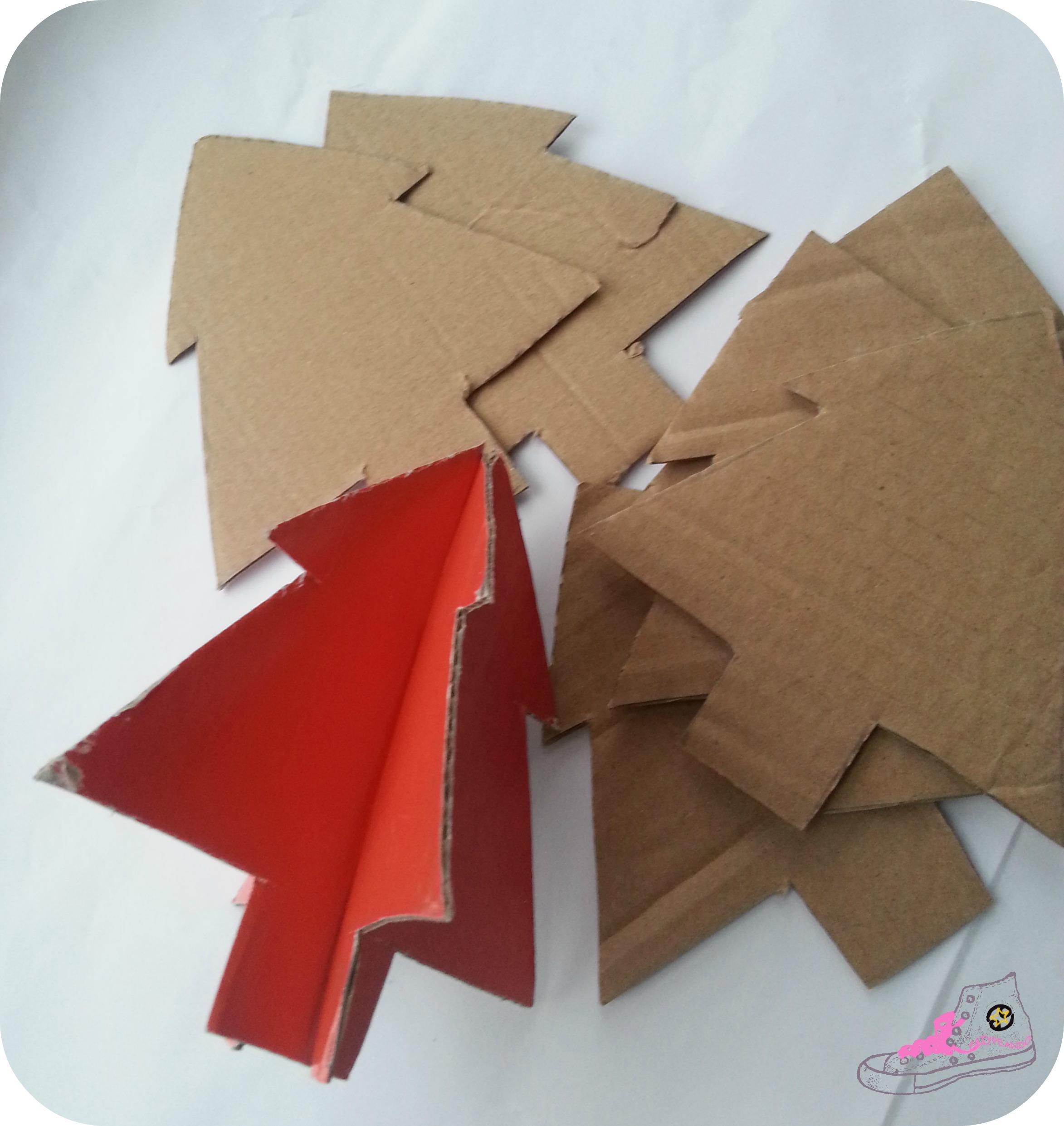 arbol de carton