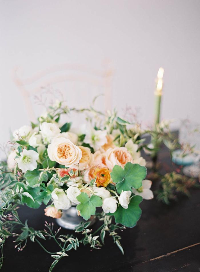 Centros de flores para decorar la mesa