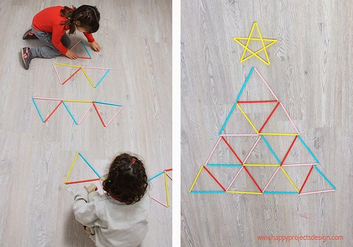 Construir un árbol a base de triángulos