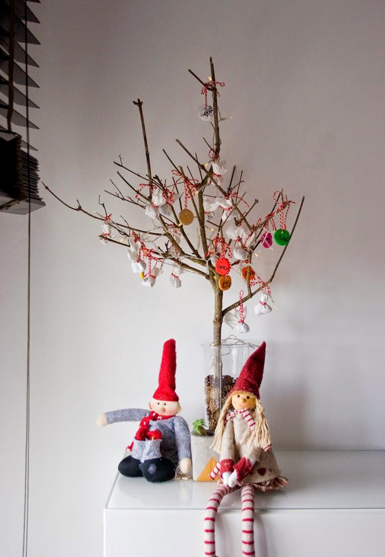 El árbol de navidad handmade de Decorar en familia - Adornos navideños con pasta de sal6