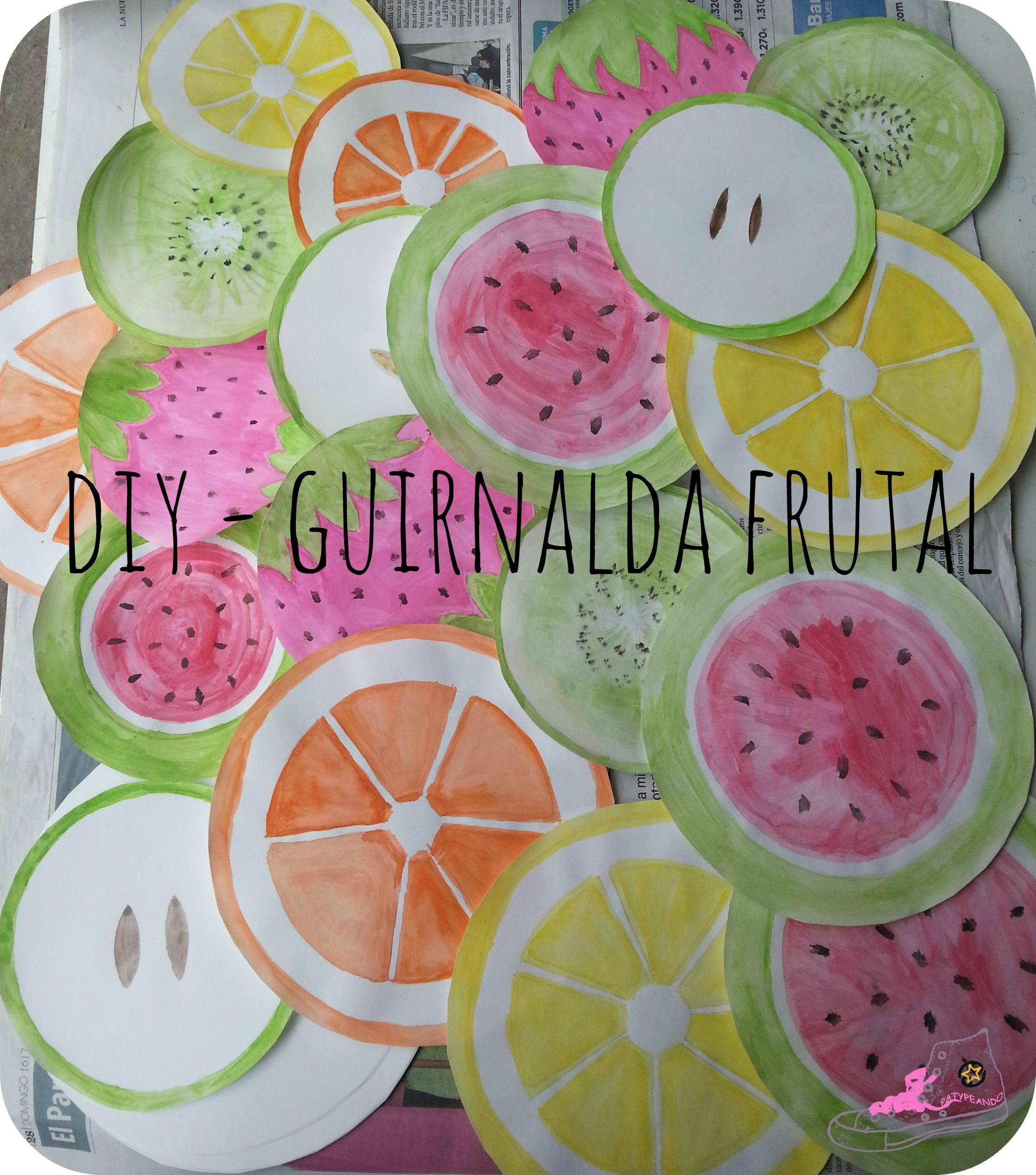 guirnalda frutal