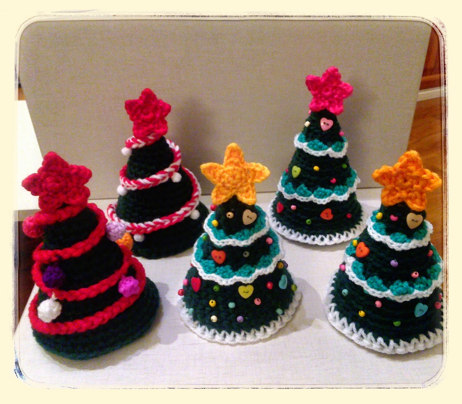 ARBOL DE NAVIDAD A CROCHET Handbox Craft Lovers Comunidad DIY