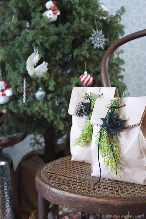 Christmas wrapping // Envolturas para Navidad // Casa Haus