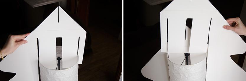 Fabrica de Imaginacion DIY paper lamp christmas tree