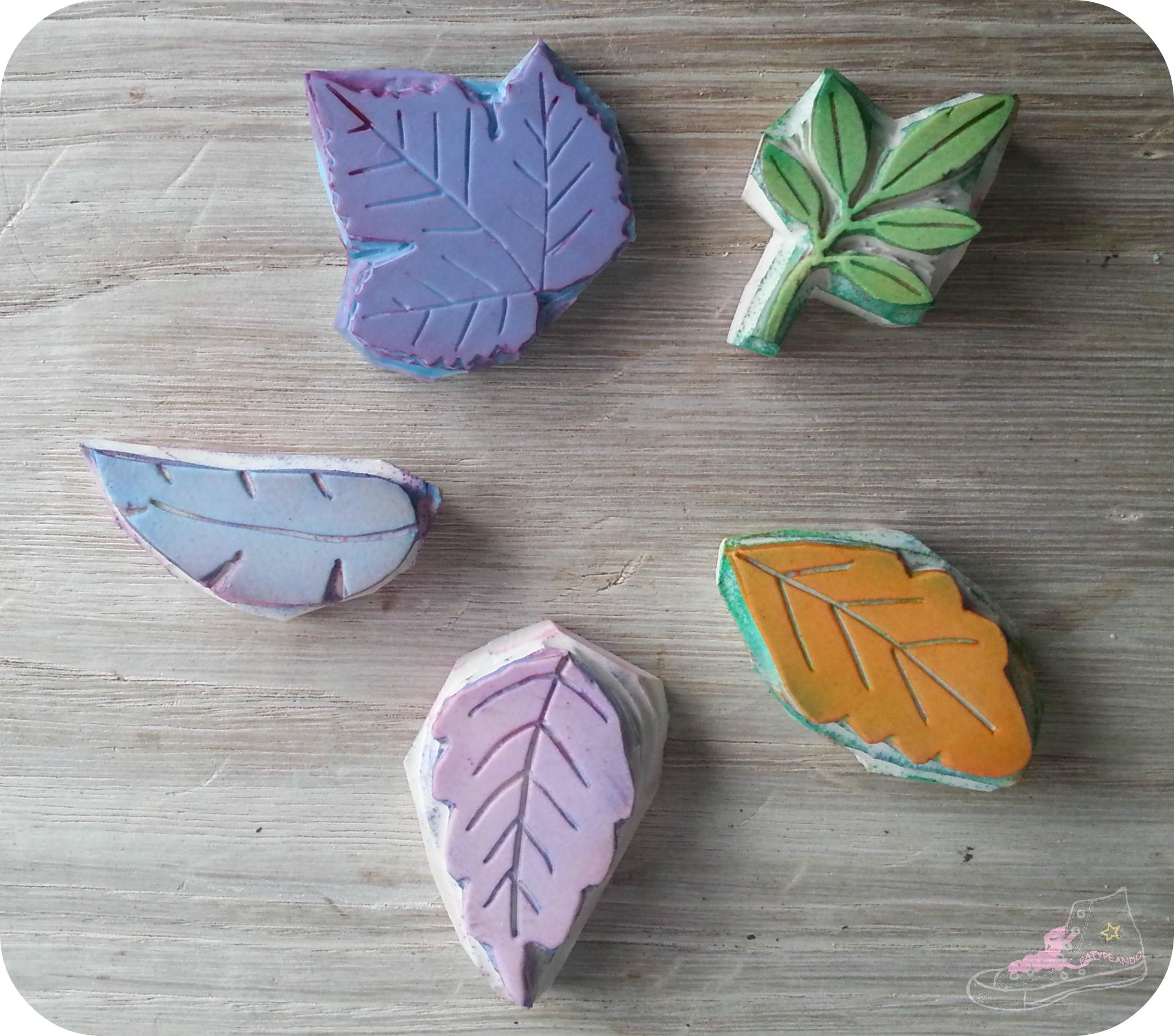 sellos hojas