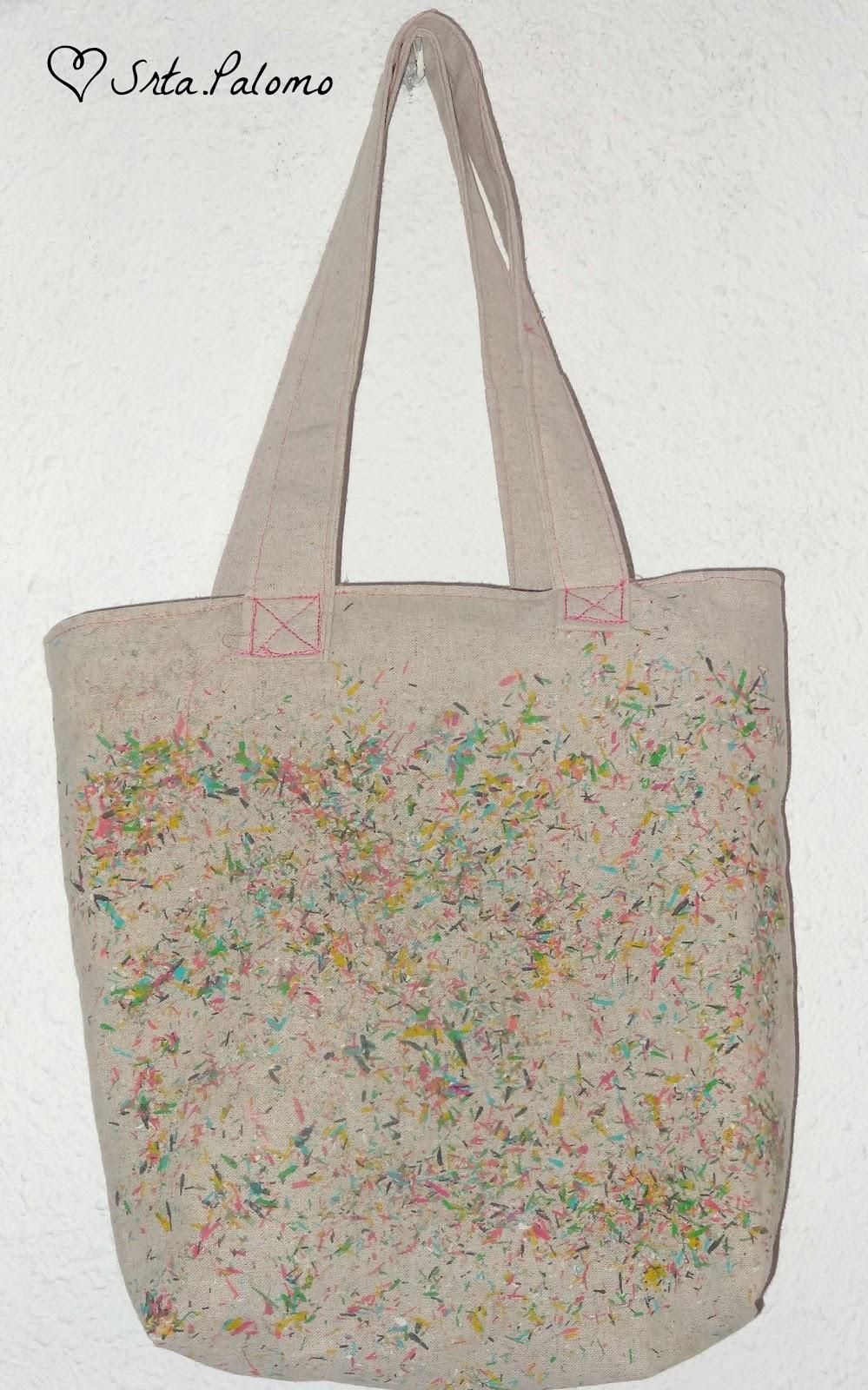 Tote bag hecho a mano