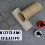 Corazones con rollos de papel higiénico