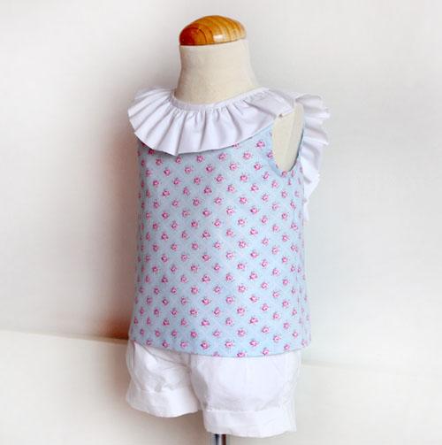 Blusa con lazo-patronesmujer