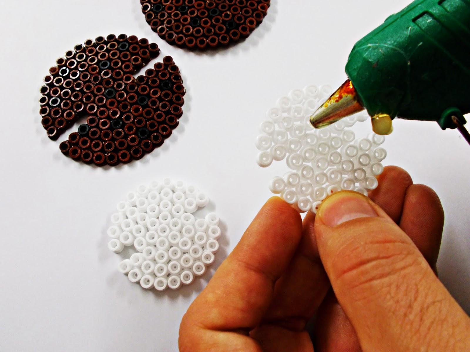 DIY-Hama Beads-ideas-galleta-cookie-guarda auriculares-cables-organizador-7