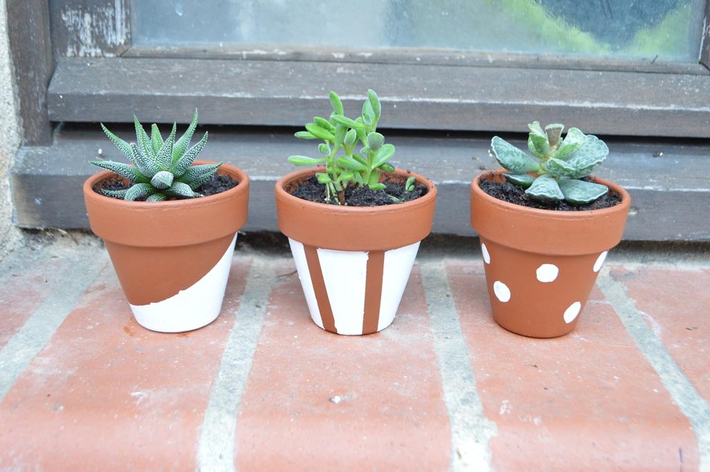 Cómo decorar unas macetas de terracota. - Handbox Craft Lovers ...
