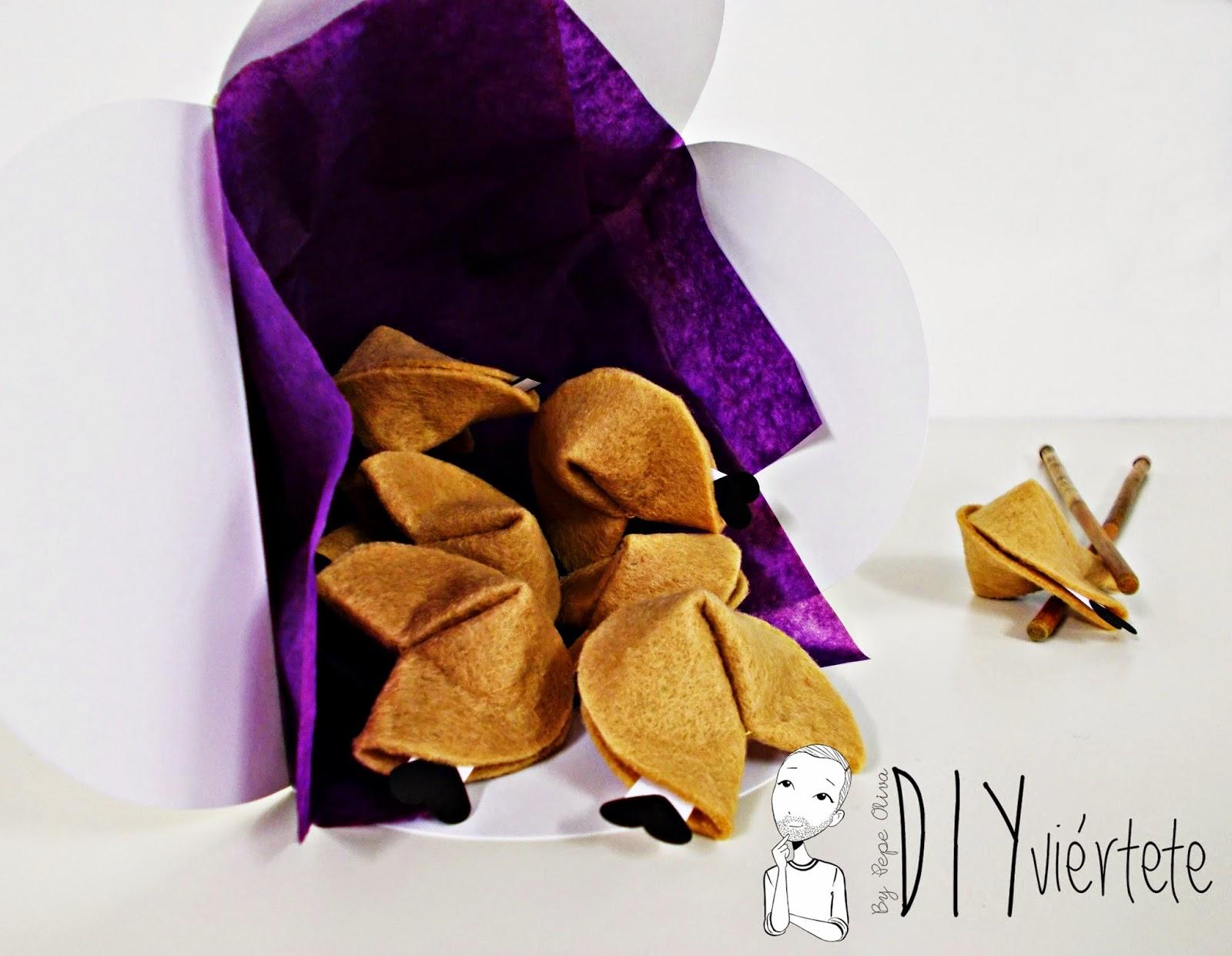 #BLOGERSANDO-diy-propósitos 2015-propósitos año nuevo-galletas de la fortuna-fieltro-papiroflexia-japonés-galletas de la suerte-deseos-1